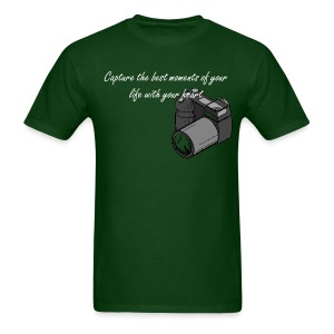 Capture the best moments of your life with your heart - Men's T-Shirt