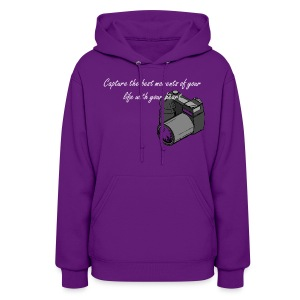Capture the best moments of your life with your heart - Women's Hoodie