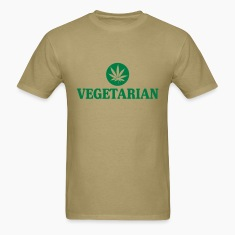 Vegetarian Pot Men's Shirt