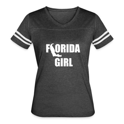 Florida Girl Vintage - Women's Vintage Sport T-Shirt