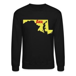 Maryland Map - Crewneck Sweatshirt