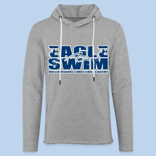 Eagle Swim Lightweight Hoodie - Unisex Lightweight Terry Hoodie