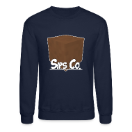 Long Sleeve Shirts ~ Crewneck Sweatshirt ~ Sipsco Dirt Sweatshirt