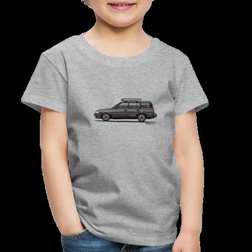 Retronics Garage's AE95 Corolla 4WD Wagon - Toddler Premium T-Shirt