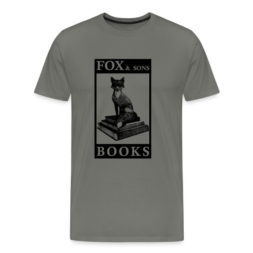 Fox Books Tee DARK - Men's Premium T-Shirt