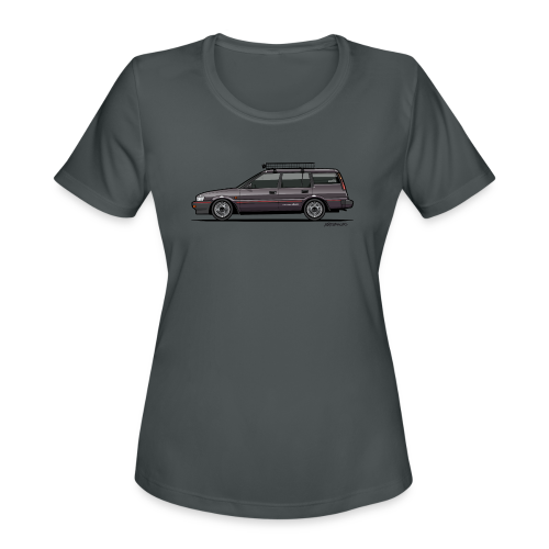 Retronics Garage's AE95 Corolla 4WD Wagon - Women's Moisture Wicking Performance T-Shirt