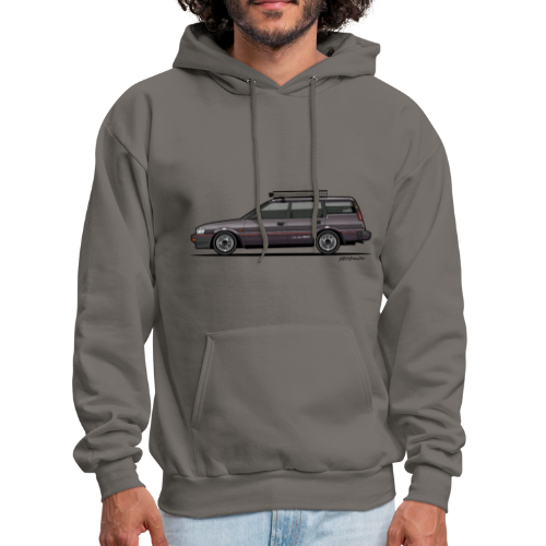 Retronics Garage's AE95 Corolla 4WD Wagon - Men's Hoodie