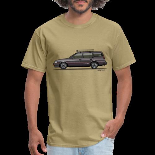 Retronics Garage's AE95 Corolla 4WD Wagon - Men's T-Shirt