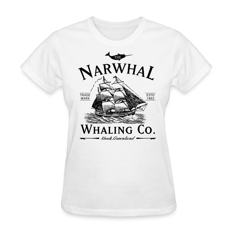 Narwhal Whaling Co. - Women's T-Shirt