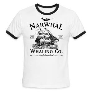 Narwhal Whaling Co. - Men's Ringer T-Shirt