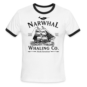 Narwhal Whaling Co. - Men's Ringer T-Shirt