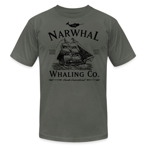 Narwhal Whaling Co. - Men's  Jersey T-Shirt