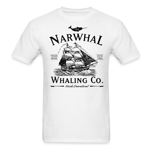Narwhal Whaling Co. - Men's T-Shirt