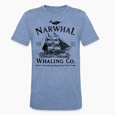 The Narwhal Whaling Company T-Shirts