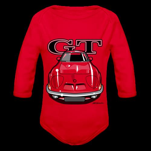 Blitz GT Front - Organic Long Sleeve Baby Bodysuit