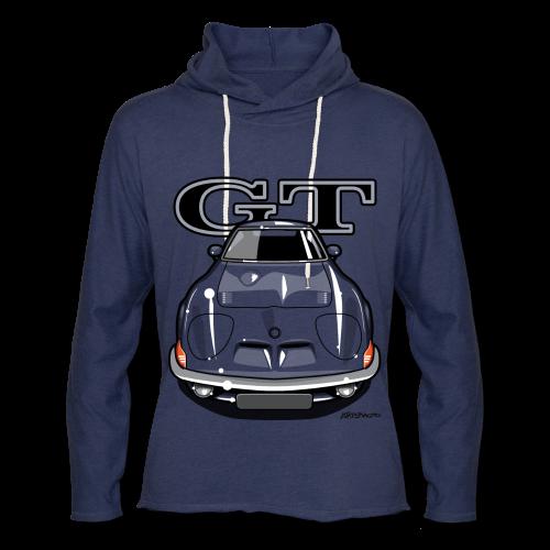 Blitz GT Front - Unisex Lightweight Terry Hoodie