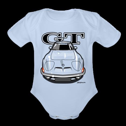 Blitz GT Front - Organic Short Sleeve Baby Bodysuit