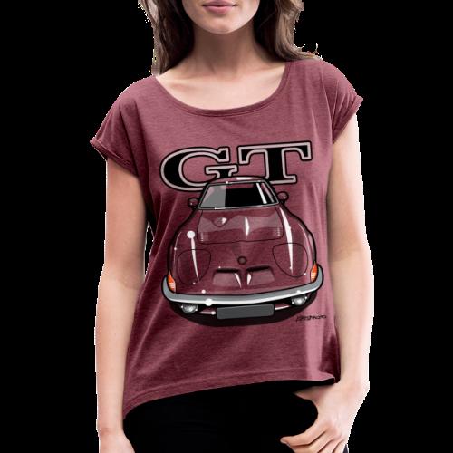 Blitz GT Front - Women's Roll Cuff T-Shirt