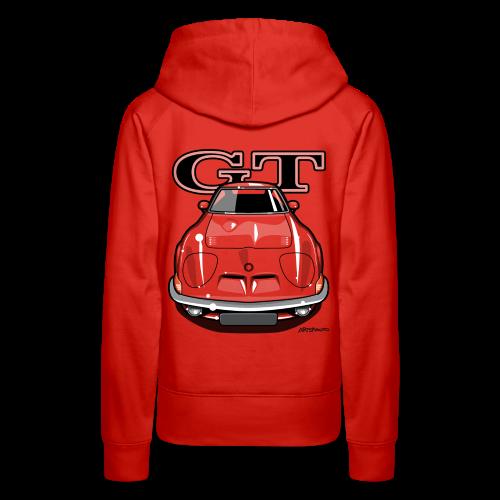 Blitz GT Front - Women's Premium Hoodie