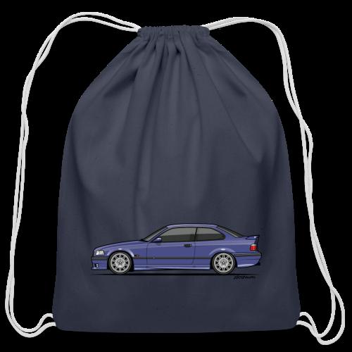 M-Drei Coupe Technoviolet - Cotton Drawstring Bag