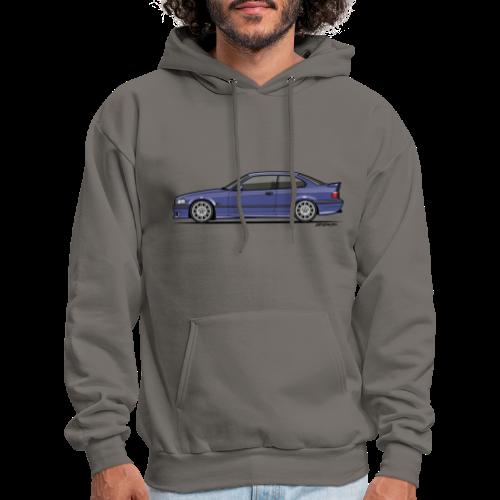 M-Drei Coupe Technoviolet - Men's Hoodie