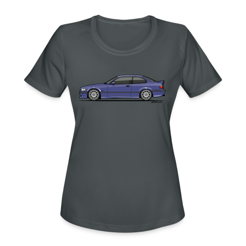 M-Drei Coupe Technoviolet - Women's Moisture Wicking Performance T-Shirt
