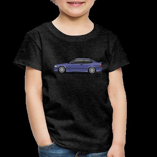 M-Drei Coupe Technoviolet - Toddler Premium T-Shirt