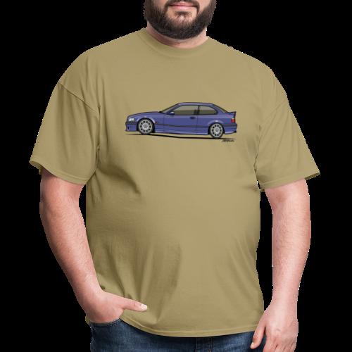 M-Drei Coupe Technoviolet - Men's T-Shirt