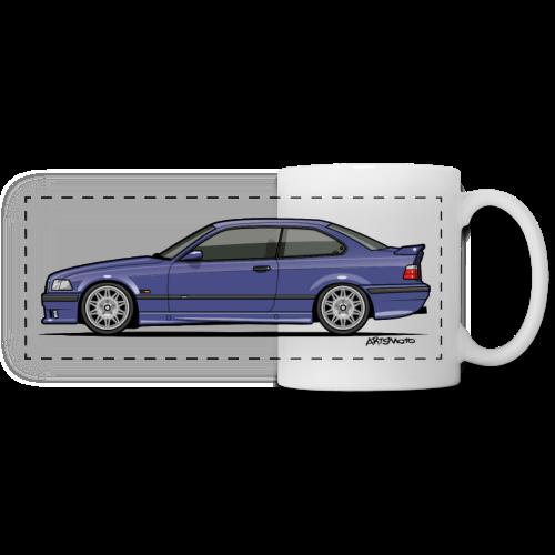 M-Drei Coupe Technoviolet - Panoramic Mug