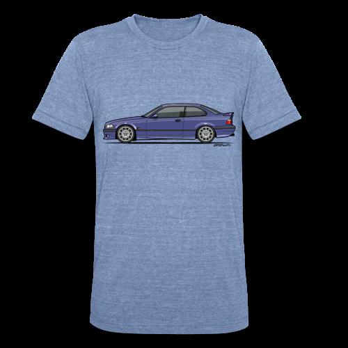 M-Drei Coupe Technoviolet - Unisex Tri-Blend T-Shirt