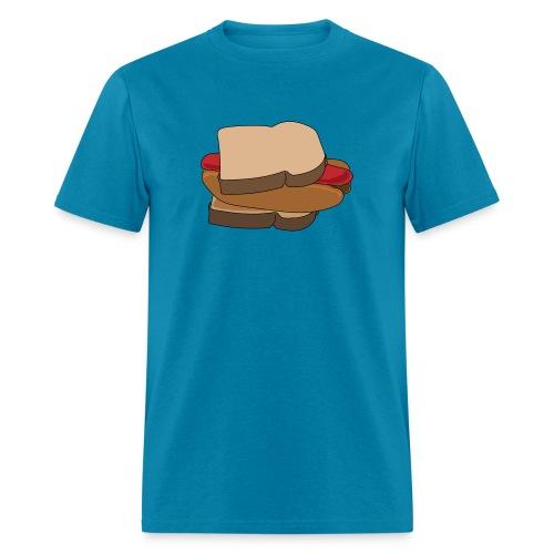 Hot Dog Sandwich - Men's T-Shirt