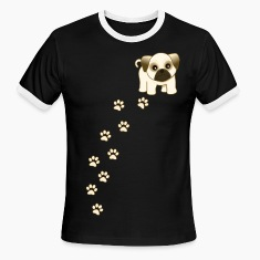 Cute Pug Puppy Dog Cartoon