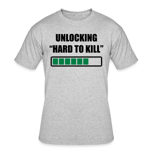 Hard to kill premium gym shirt - Men's 50/50 T-Shirt