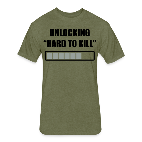 Hard to kill premium gym shirt - Fitted Cotton/Poly T-Shirt by Next Level
