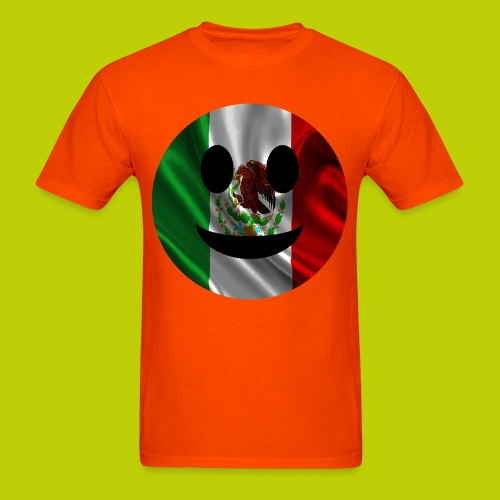 Mexican Smiley Face -ink print- - Men's T-Shirt