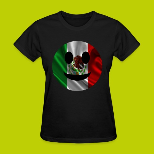 Mexican Smiley Face -ink print- - Women's T-Shirt