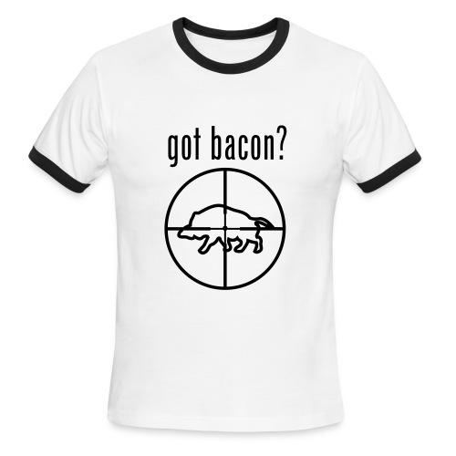 Got Bacon - Men's Ringer T-Shirt