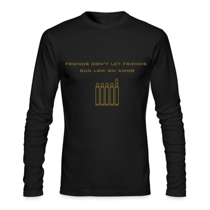 Friend's Ammo - Men's Long Sleeve T-Shirt by Next Level