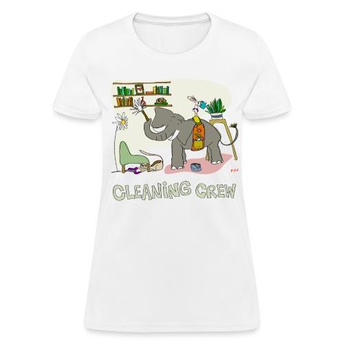 Women's Tee   Cleaning Crew - Women's T-Shirt