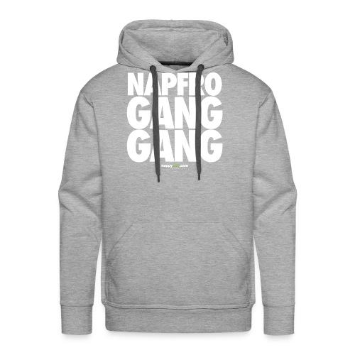 GANG GANG (WHITE) HOODIE - Men's Premium Hoodie