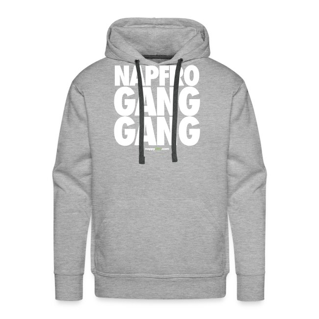 GANG GANG (WHITE) HOODIE