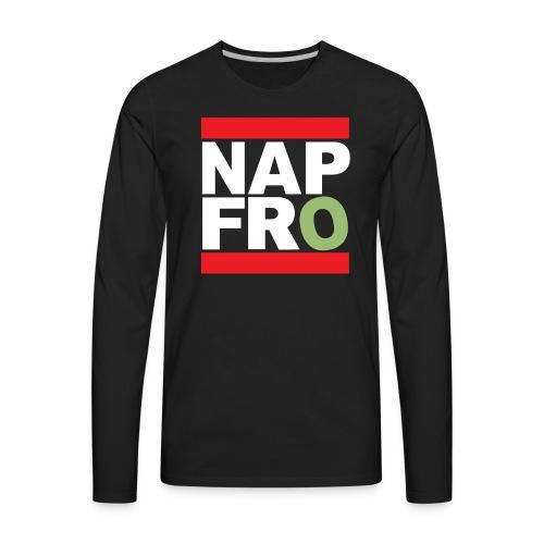 NAPFRO STAMP (BLACK) LONG - Men's Premium Long Sleeve T-Shirt