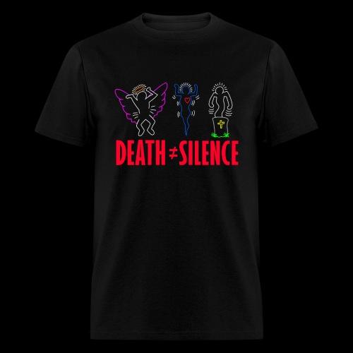 Death Does Not Equal Silence Shirt - Men's T-Shirt
