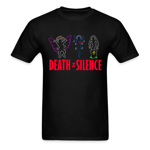 Death Does Not Equal Silence Shirt - Men's T-Shirt