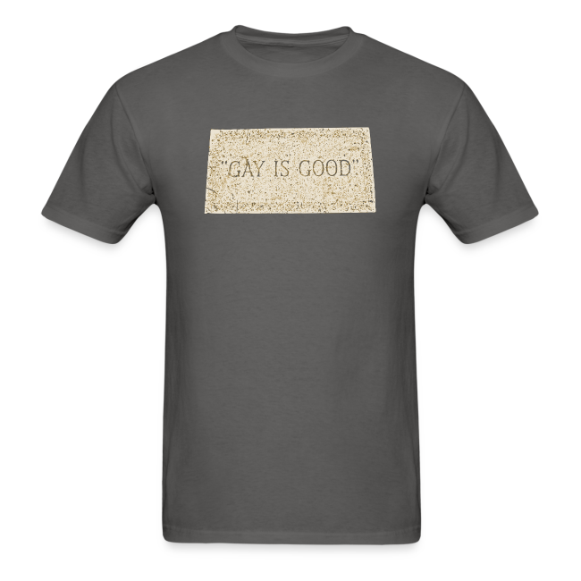 """Gay is Good"" Gravestone Shirt"
