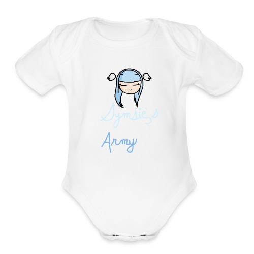 Baby Outfit - Tyke Angels - Organic Short Sleeve Baby Bodysuit