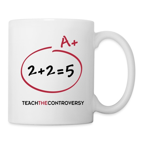 Doublethink (2 + 2 = 5) [doublethink] - Coffee/Tea Mug