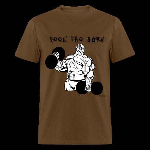 Feel The Burn - Men's T-Shirt