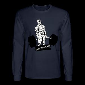 Feel The Burn - 002 - Men's Long Sleeve T-Shirt