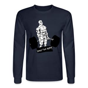 Feel The Burn - 002 - Men's Long Sleeve T-Shirt